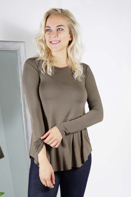 U-Neckline Top - orangeshine.com