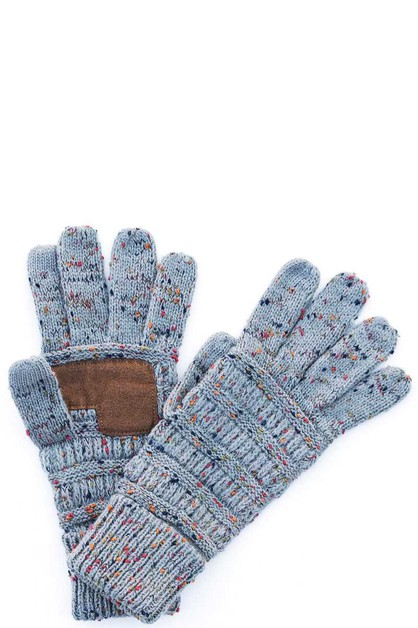 CC confetti touch screen gloves - orangeshine.com