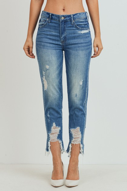 HIGH-RISE GIRNFRIEND JEANS - orangeshine.com