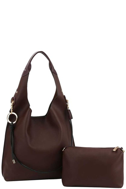 STYLISH DOUBLE STRAP HOBO BAG - orangeshine.com