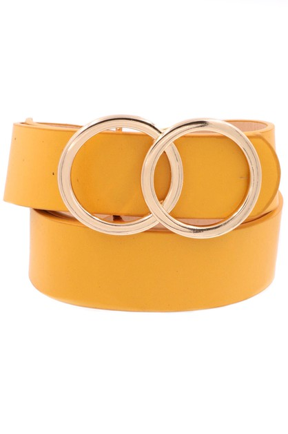 Metal Ring Belt - orangeshine.com