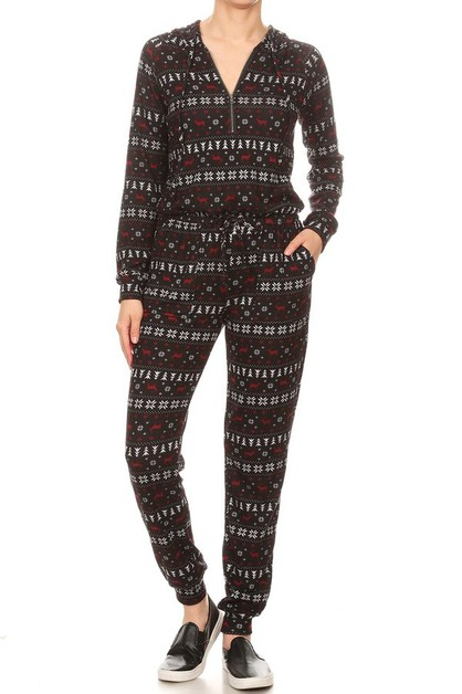 Christmas Jumpsuits Knit Onesies  - orangeshine.com