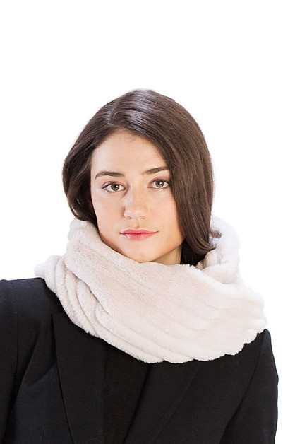 STRIPED QUILTING INFINITY SCARF - orangeshine.com
