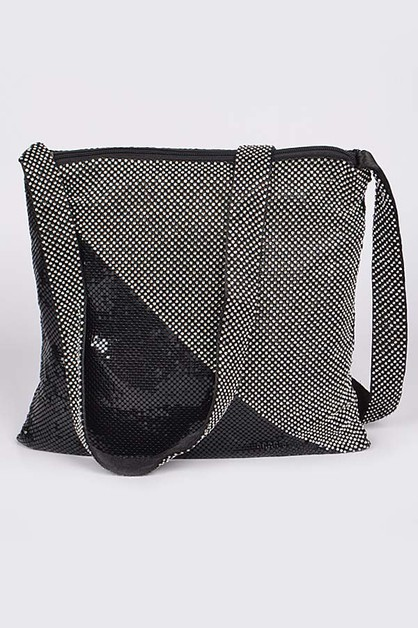Bling Bling Sequin Shoulder Bag - orangeshine.com