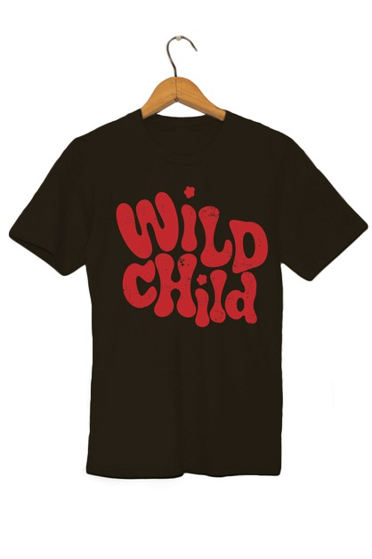 Wild Child Graphic Tee - orangeshine.com