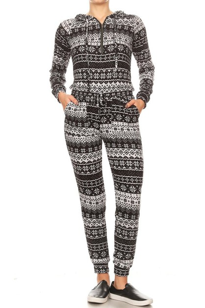 Christmas Winter Onesies Jumpsuits  - orangeshine.com