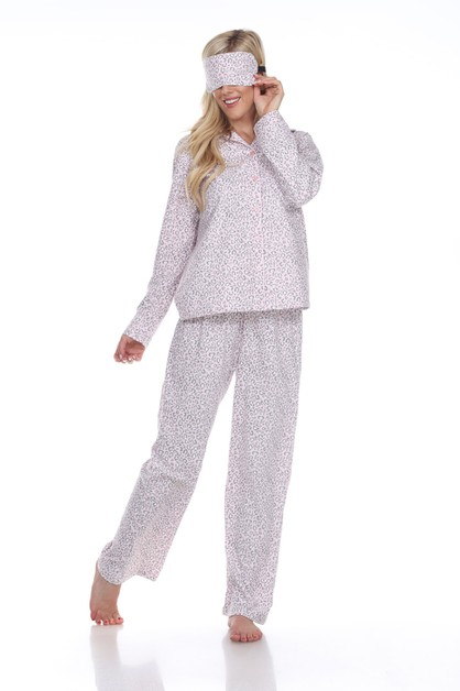Three-Piece Pajama Set - orangeshine.com
