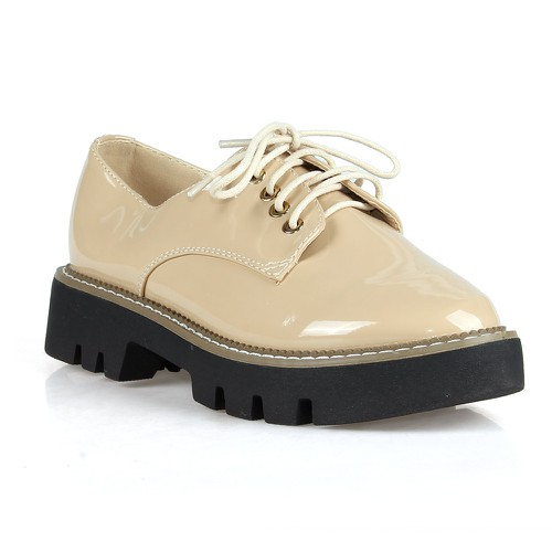 Brett Women oxford flats - orangeshine.com