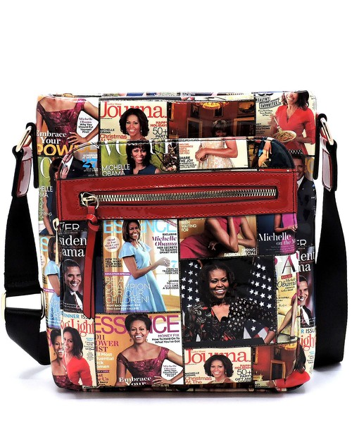 Magazine Cover Collage Crossbody - orangeshine.com