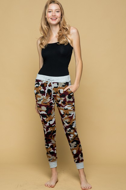 MULTI ARMY JOGGER PANTS  - orangeshine.com