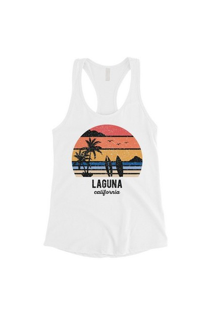 Beach-Laguna Tank Top - orangeshine.com