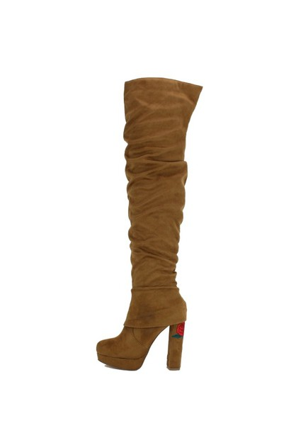 knee high boots - orangeshine.com