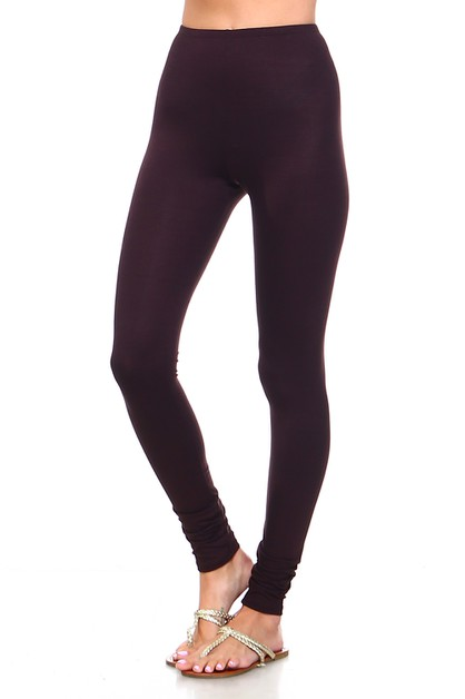 Plus Size Full Length Leggings - orangeshine.com