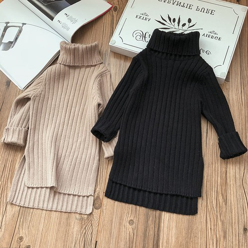 Girls Sweater Maxi dress - orangeshine.com