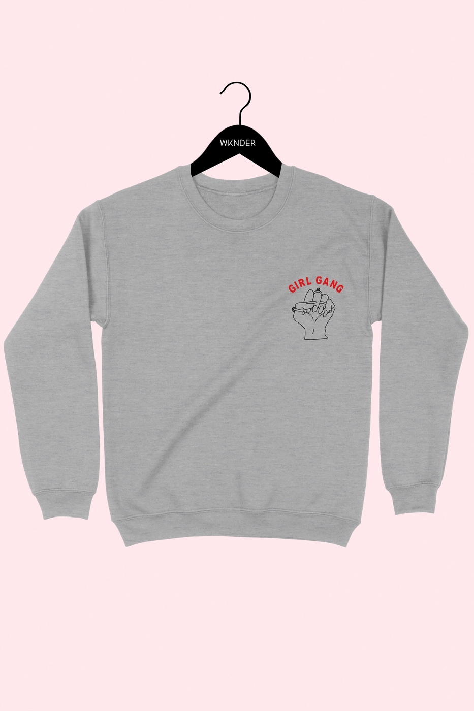 GIRL GANG GRAPHIC SWEATSHIRT - orangeshine.com