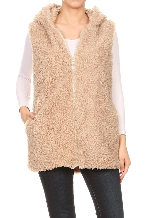 Plush Faux Fur Oversize Jackets Coat - orangeshine.com