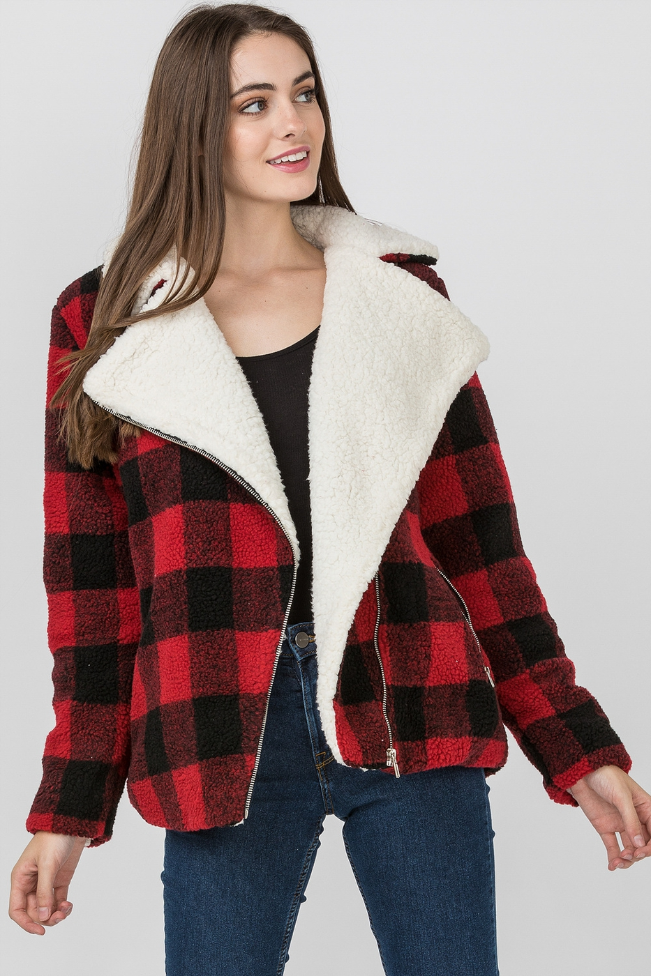 BUFFALO PLAID JACKET - orangeshine.com