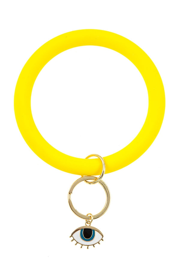 RUBBER RING LINK EYE KEY CHAIN - orangeshine.com