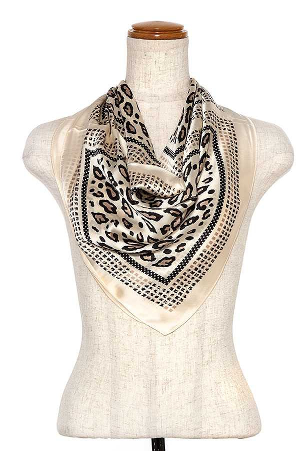 ANIMAL PRINT SCARF - orangeshine.com