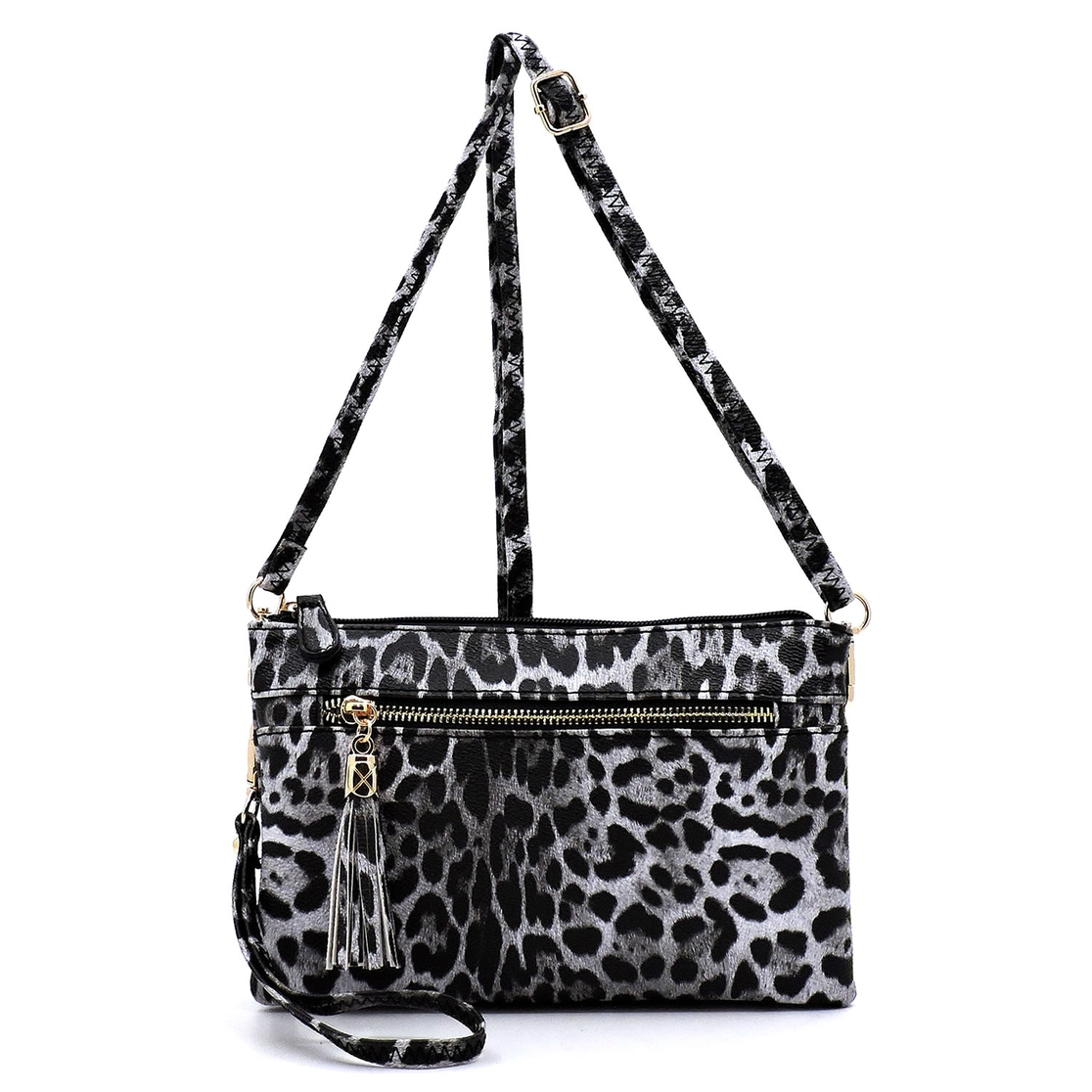 Leopard  Clutch Cross Body Bag - orangeshine.com