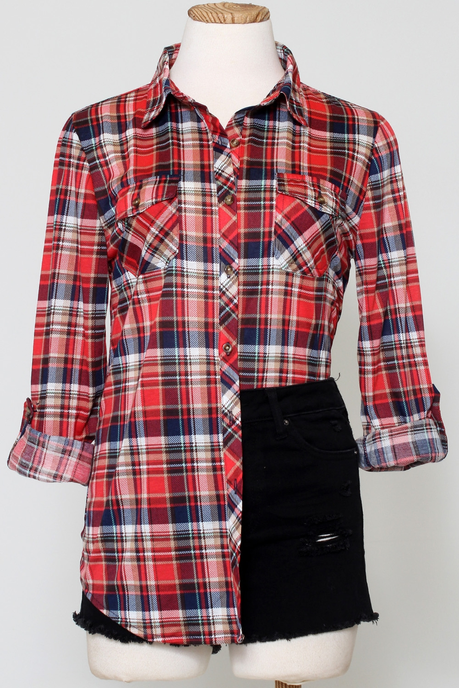 PLAID FLANNEL CHECKER SHIRTS - orangeshine.com
