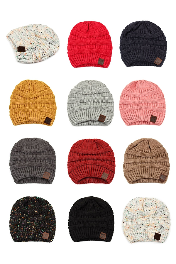 KNITTED BEANIE - orangeshine.com
