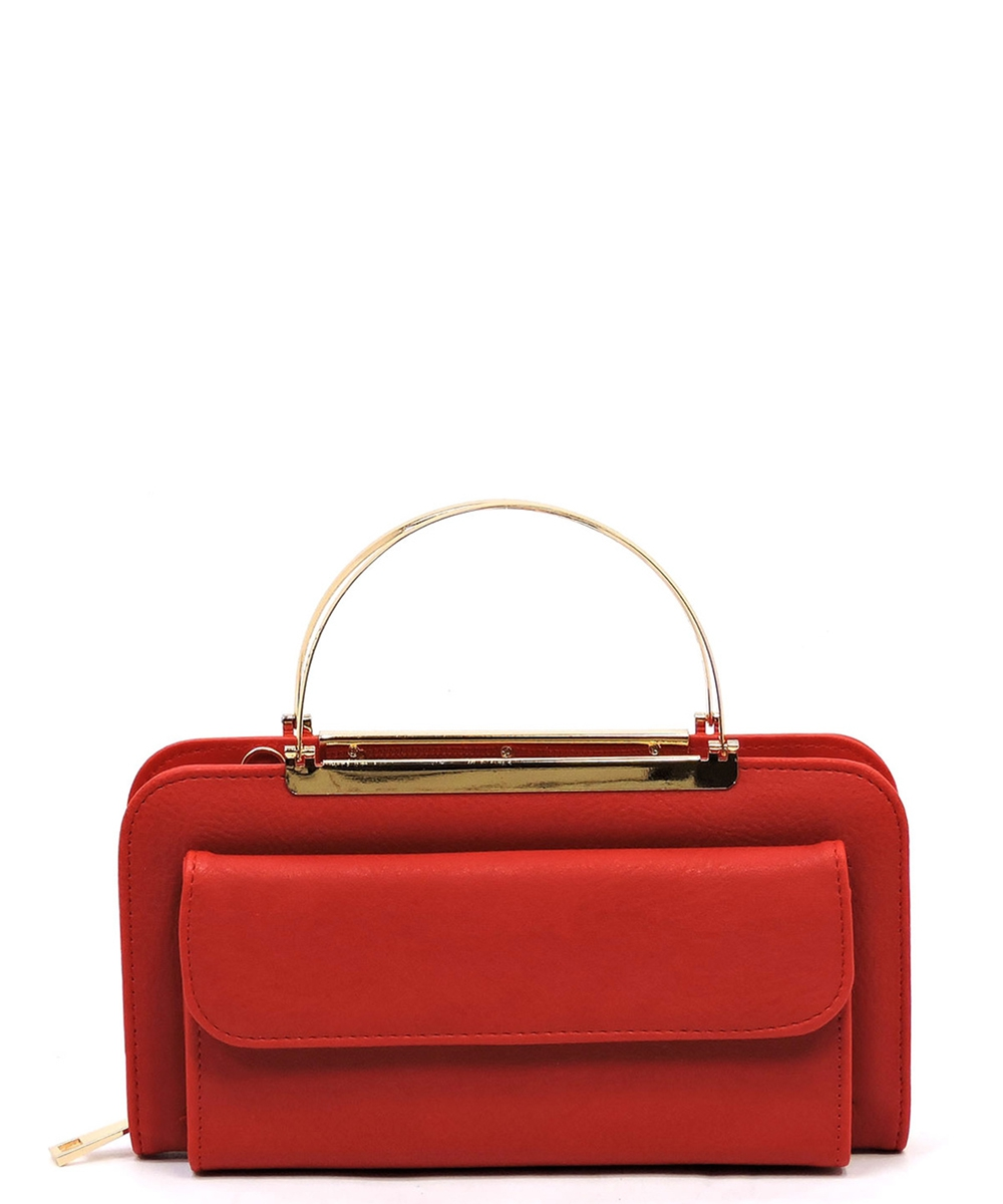 Fashion Round Top Handle Crossbody C - orangeshine.com