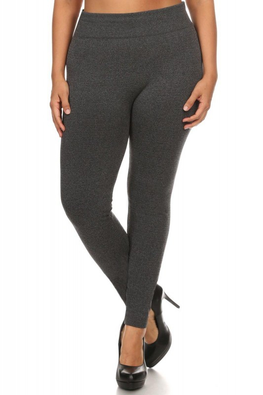 Plus Size Thick Fleece Leggings Warm - orangeshine.com