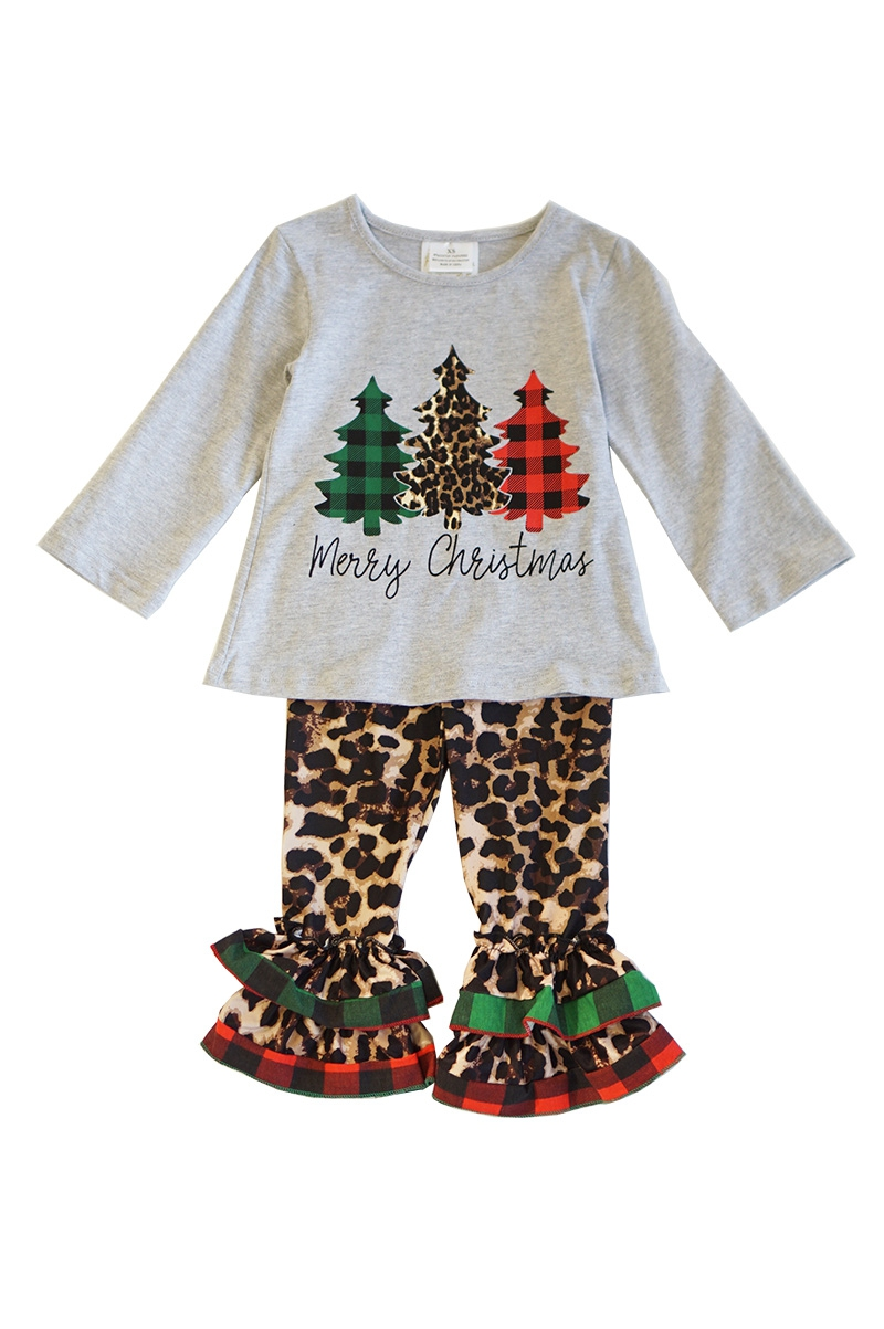 Christmas tree top with leopard - orangeshine.com