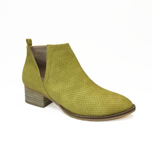 V SIDE CUT SIDE BOOTIES - orangeshine.com