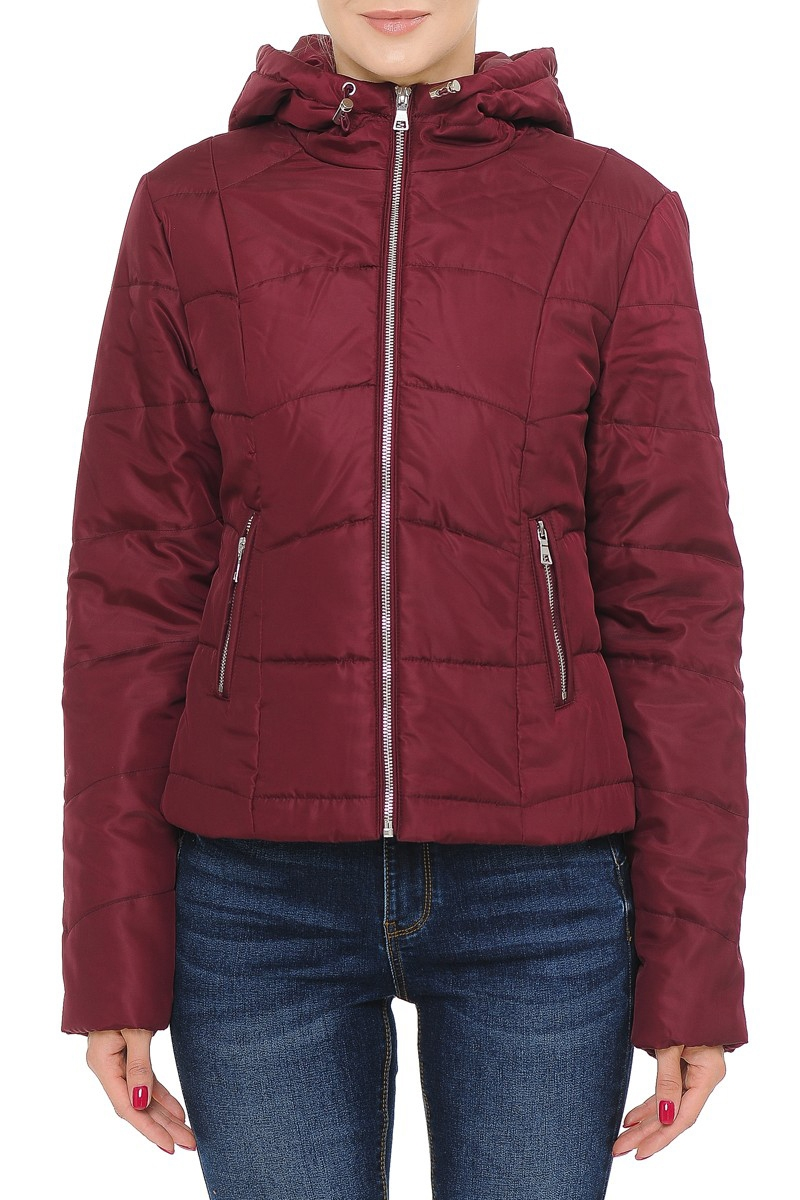 HOODED QUILTED PUFFER JACKET - orangeshine.com