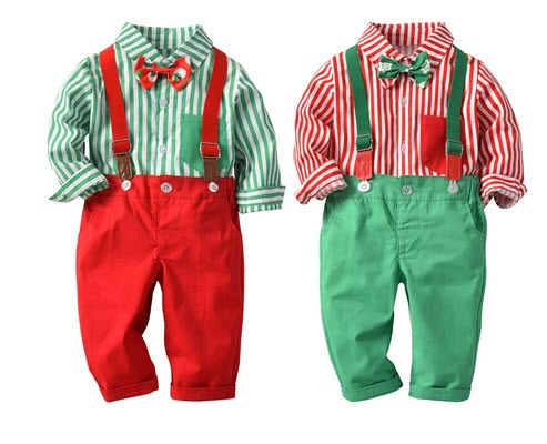 Boys christmas outfit set - orangeshine.com