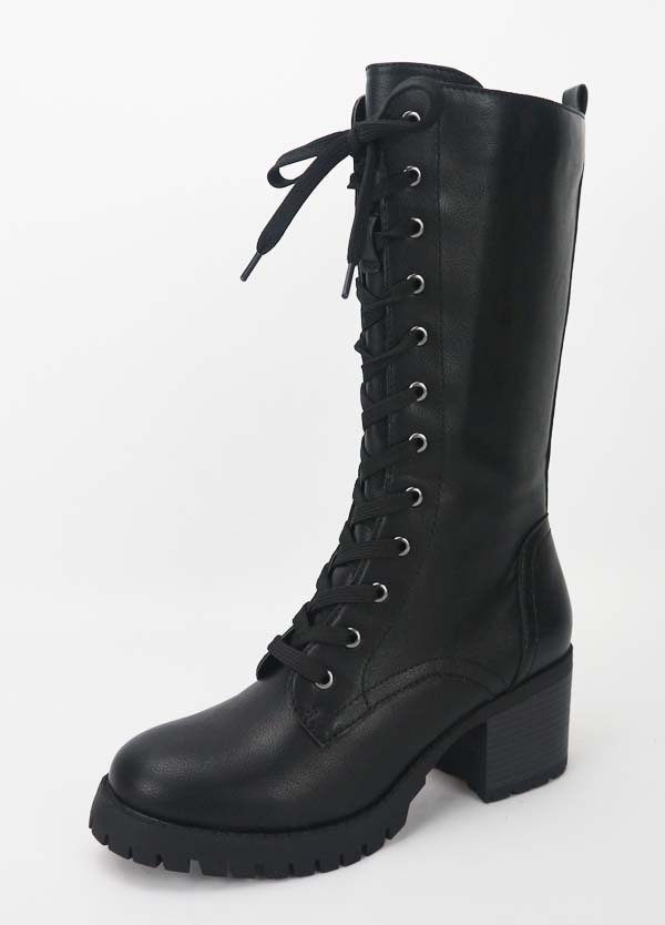 WOMENS LACE UP RIDING KNEE HIGH BOOTS  - orangeshine.com