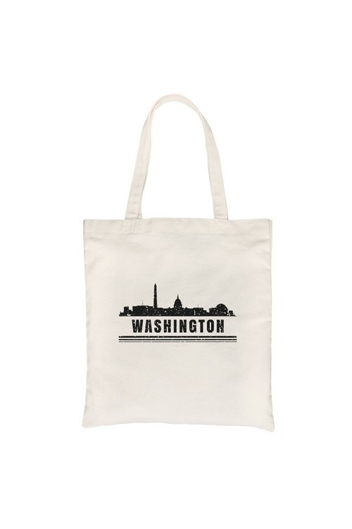 Skyline-Washington Canvas Bag - orangeshine.com