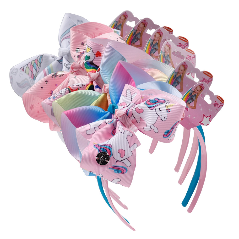 Unicorn hair accessory headband - orangeshine.com