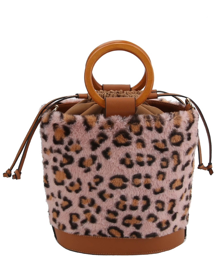 LEOPARD FAUX CROSS BODY BAG - orangeshine.com