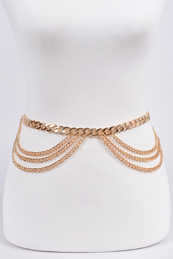 Symmetric Chain Belt - orangeshine.com