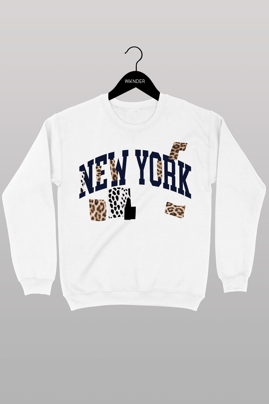 NEW YORK GRAPHIC SWEATSHIRT - orangeshine.com