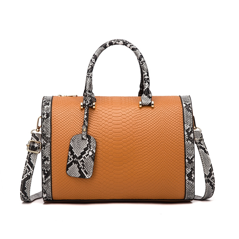 Snake pattern chain bag - orangeshine.com