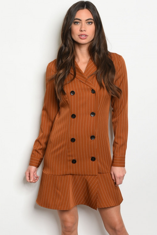 LONG SLEEVE DOUBLE BLAST DRESS - orangeshine.com