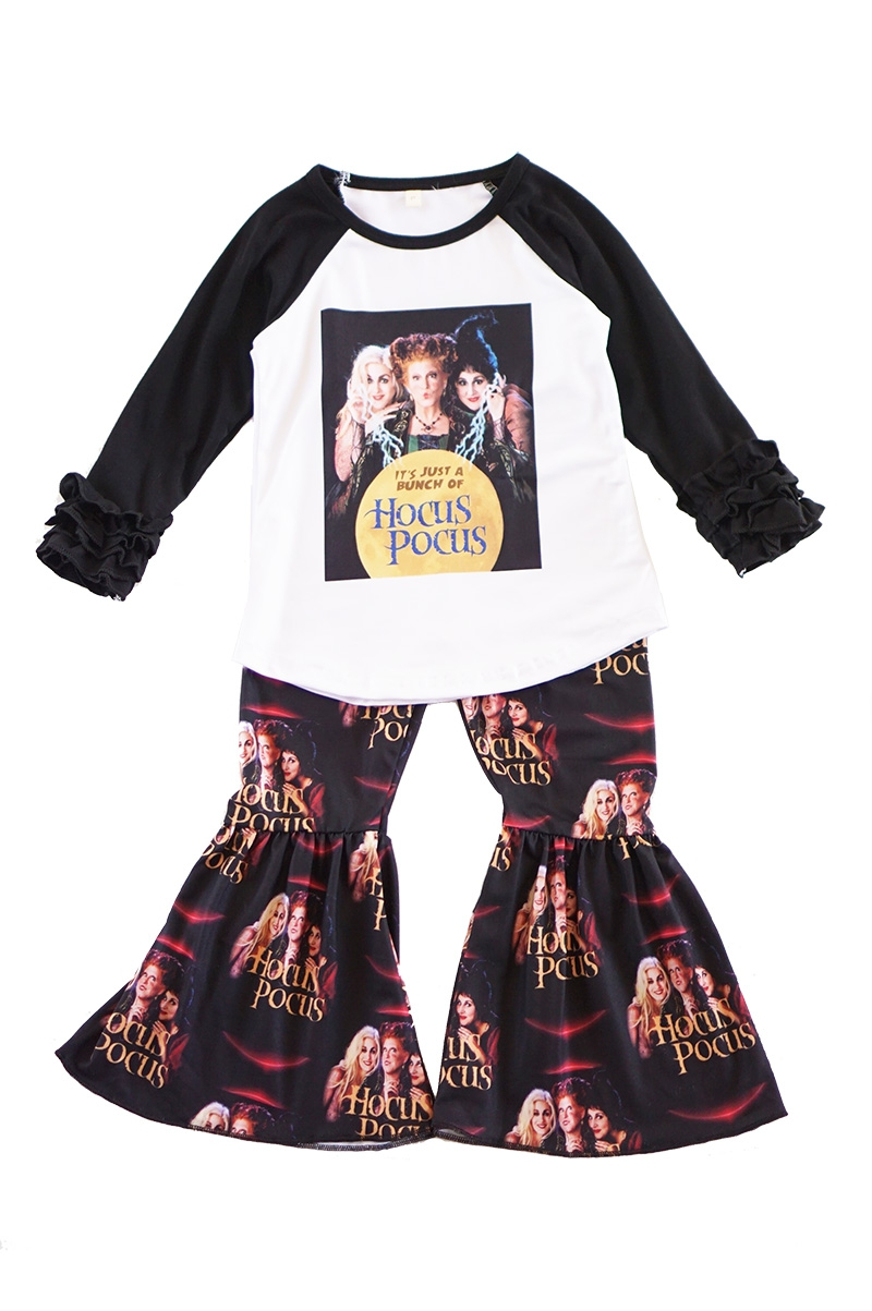 Hocus pocus witch bell pants set - orangeshine.com