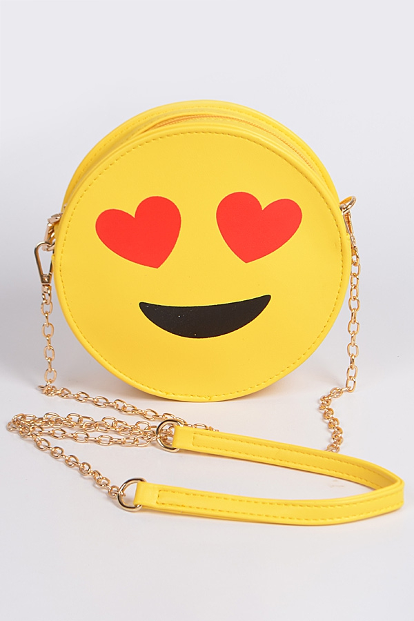 In Love Emoji Clutch - orangeshine.com