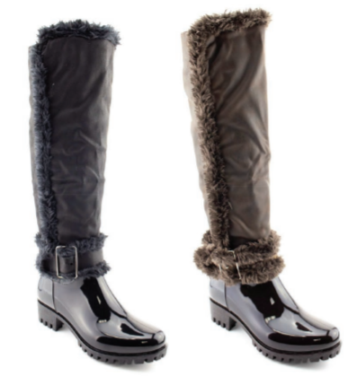 WEATHER LONG BOOTS - orangeshine.com