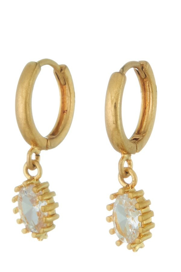 Huggie hoop earrings - orangeshine.com