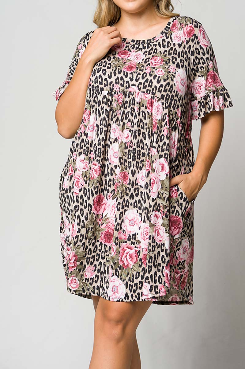 BABY DOLL PLUS SIZE DRESS - orangeshine.com
