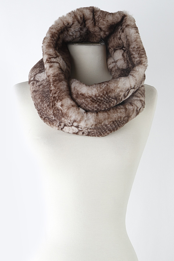 Simple Print Infinity Neck Warmer  - orangeshine.com