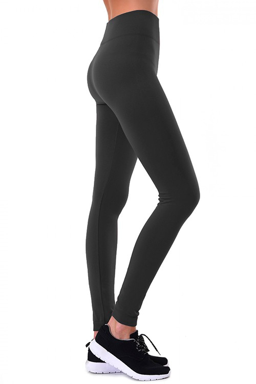 Fleece Lined Leggings - orangeshine.com