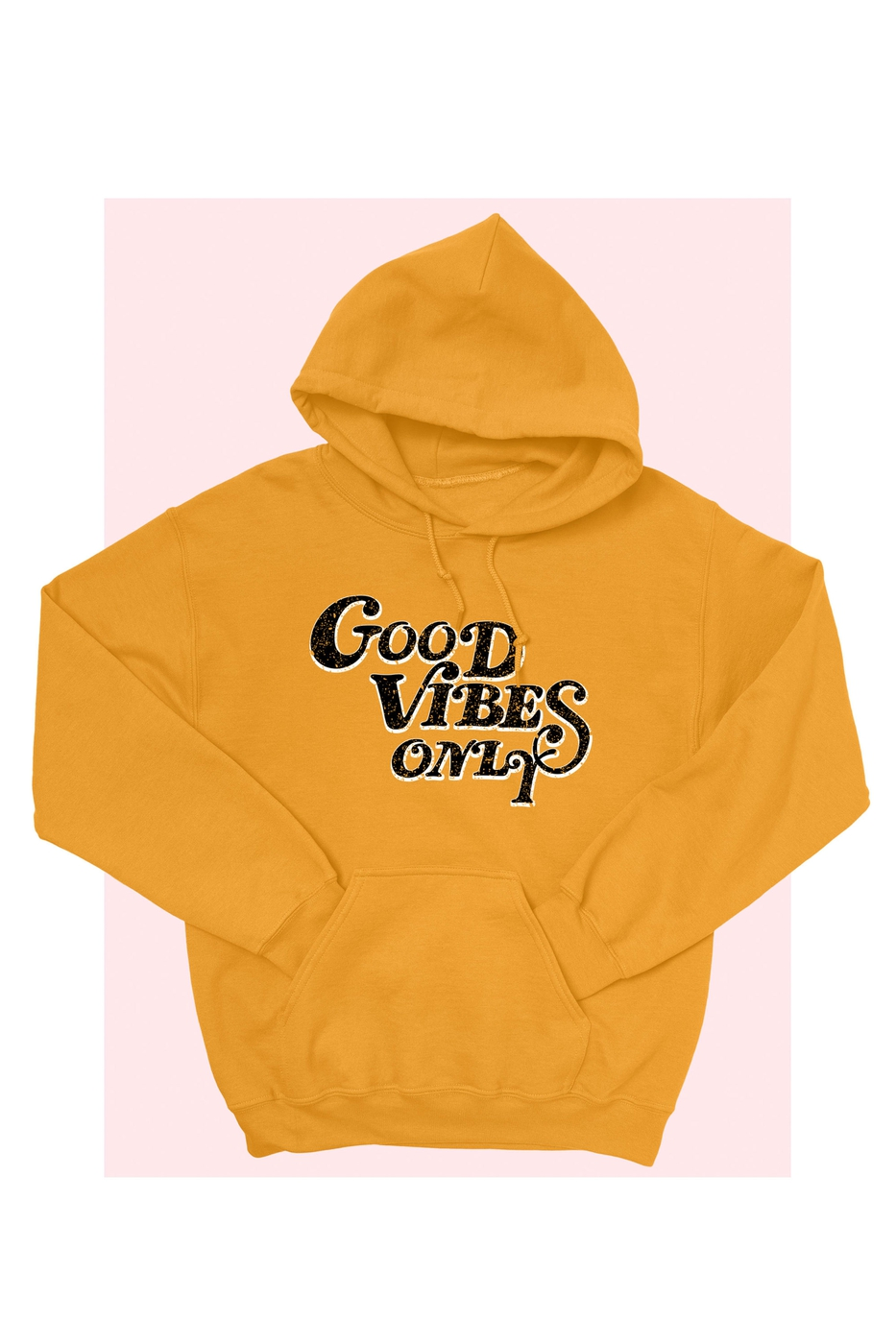 GOOD VIBES ONLY GRAPHIC CROP HD - orangeshine.com