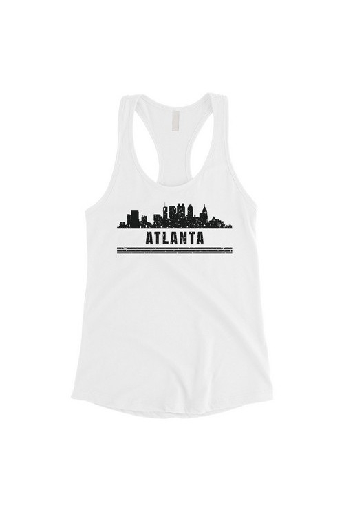 Skyline-Atlanta Tank Top - orangeshine.com