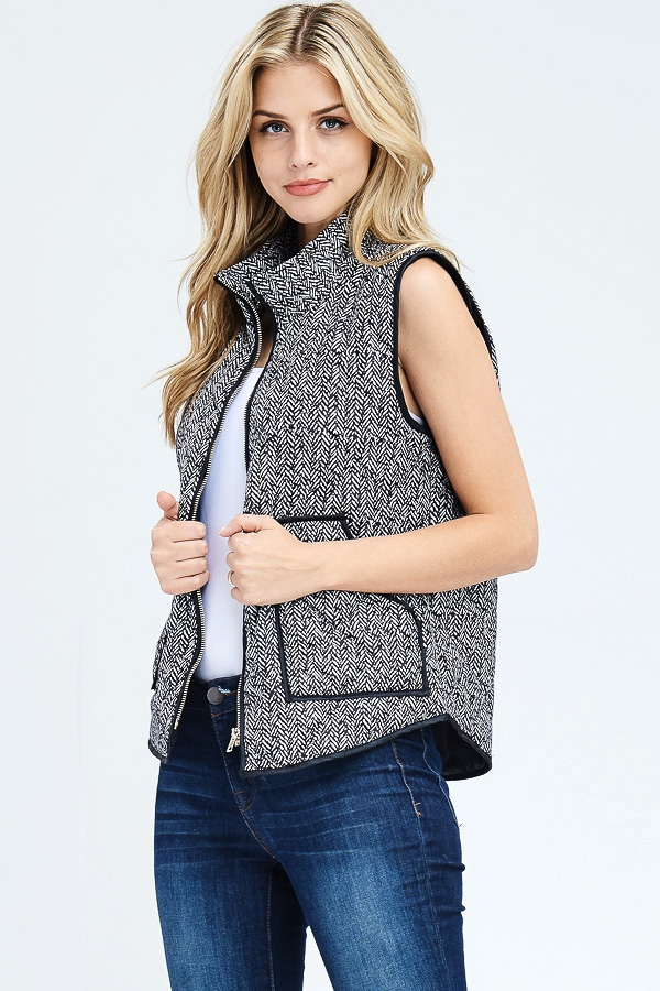 IN STOCK PADDED VEST WITH BINDING AN - orangeshine.com